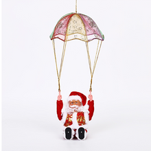 Load image into Gallery viewer, Christmas Parachute Santa Claus Pendant