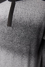 Load image into Gallery viewer, MERINO WOOL ZIP MOCK PULL OVER SWEATER