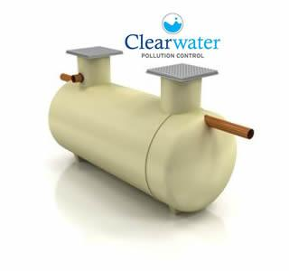 Clearwater Shallow Dig Septic Tank 2800L