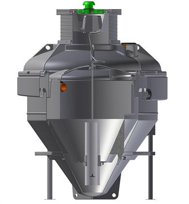 Conder HDPE ASP16 Integrated Pump Sewage Treatment System