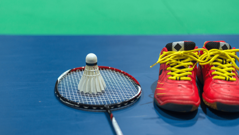 remember while buying badminton shoes