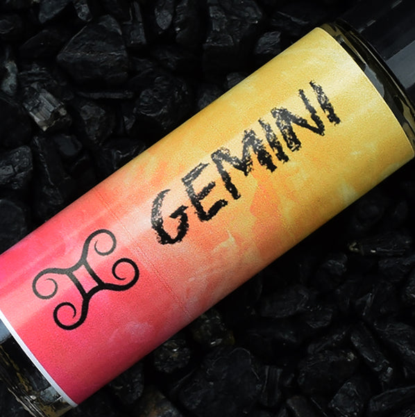 GEMINI Perfume Oil, May 21 - June 20, Astrology Horoscope Birthday Gift, The Twins Zodiac Symbol