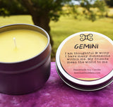 GEMINI Candle May 21 - June 20, The Twins Zodiac Astrology Horoscope