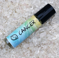 CANCER Perfume Oil, June 21 - July 22, Astrology Horoscope Birthday Gift, The Crab Zodiac Symbol