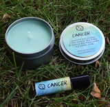CANCER Candle, June 21 - July 22, The Crab Zodiac Symbol