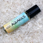 AQUARIUS Perfume Oil, Jan 20 - Feb 18, Astrology Horoscope Water Bearer Zodiac Symbol