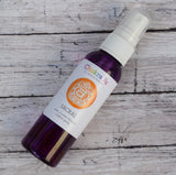 Sacral Chakra Spray - Creativity, Passion & Emotional Balance - Sweet Orange Scent with Carnelian Crystals