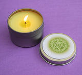 Heart Chakra Candle - Anahata - Open Your Heart Center & Increase Self Love