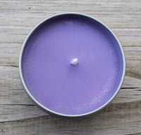 Crown Chakra Candle - Higher Self, Soul, Divine Consciousness - Sahasrara 7th Purple Crown Chakra
