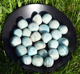 AMAZONITE Warrior Goddess Stone, Divine Feminine Power, Throat Chakra Crystal