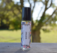 AMBER Perfume Oil - Earthy Amber Resin Scented Perfume