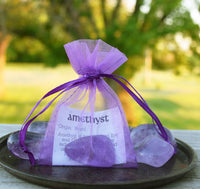 AMETHYST Crystal - Crown & Third Eye Chakra Crystal - February Birthstone Aquarius Pisces