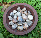 BLACK MOONSTONE New Moon Crystal, Let Go & Start New Beginnings, Goddess Stone