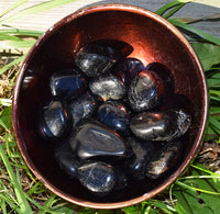 BLACK TOURMALINE Protection Stone Repels Negative Energy, Aids Grief & Depression