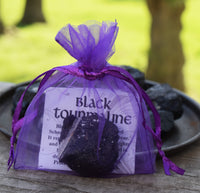 BLACK TOURMALINE Raw Crystal, Repels Negative Energy, Helps With Grief & Depression