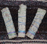 BLUE SAGE SMUDGE STICK - Grandmother Sage, Wild Blue Sage Stick, Magical Ritual Sage