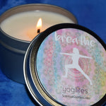 Breathe YogiLights Yoga Candle