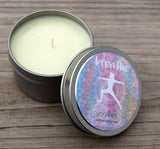 BREATHE Candle YogiLights Aromatherapy Candle - Spearmint & Eucalyptus  Scent