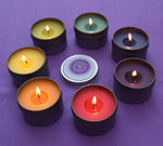 Chakra Candles Set - Open & Balance Your 7 Chakras - Meditation Yoga Reiki