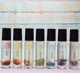 Chakra Oils Set - Aromatherapy Oils to Balance Chakras During Meditation or Yoga