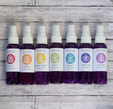 Crown Chakra Spray - Spiritual Growth & Transformation - Lavender Sage Scent with Amethyst