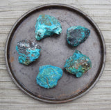 CHRYSOCOLLA Freedom of Expression Stone - Courage to Speak Your Truth Balance Throat Chakra