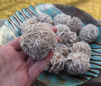 DESERT ROSE Spirit Crystal, Soothes Mind, Dissolve Old Limiting Beliefs, Gypsum Rose