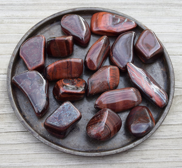 DRAGONS EYE Self Worth, Vitality Motivation, Root Chakra Stone, Red Tiger Eye Stone