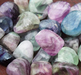 FLUORITE Smart Decisions Stone - Make Better Choices - Healthy Lifestyle Good Health Talisman