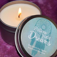 Follow Your Dreams Candle