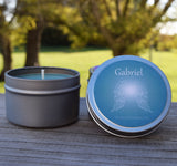 Gabriel Archangel Candle - Call Upon Angel Gabriel For Guidance & Inspiration