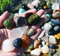 Grab Bag of Crystals - Mystery Bag of Stones for Your Rock Collection