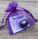 HEMATITE Is a Master Grounding Stone Used to Draw Out Negative & Thoughts