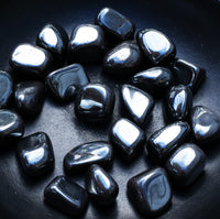 HEMATITE Grounding Stone, Draw Out Negative Energy, Heal Root Chakra