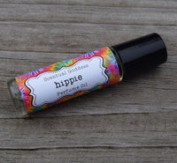 HIPPIE Perfume Oil - Earthy blend of Patchouli, Sandalwood, Amber, Ylang Ylang & Cedar