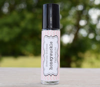 HONEYSUCKLE Perfume Oil - Symbolizes The Burning Flame of A First Love - Floral Scented
