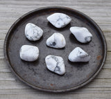 HOWLITE Crystal, Calming Buffalo Stone, White Crown Chakra Crystal
