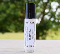 JASMINE Perfume Oil - Southern White Floral Scented Roller Ball Vegan Body Oil