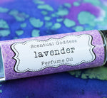 Lavender Perfume Oil handmade by Scentual Goddess
