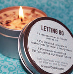 Letting Go Candle