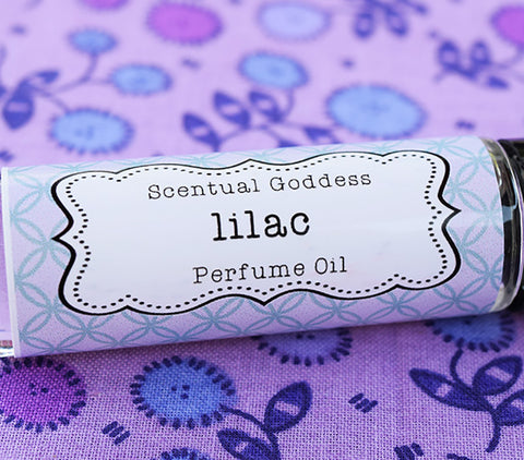 Lilac Perfume Oil handmade by Scentual Goddess