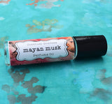MAYAN MUSK Perfume Oil, Tribal, Mayan Calendar, Mexican, South America, Unisex Musk Oil