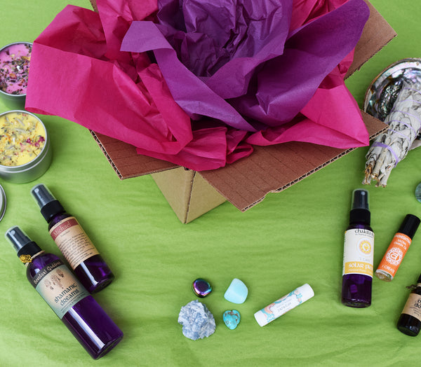 "Mystery Box - Thinking ""OMG, I want it all?"" Intuitively Chosen Gift Set"
