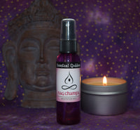 NAG CHAMPA Meditation Mist - Popular Indian Incense Scent in a Convenient Spray Meditate Yoga
