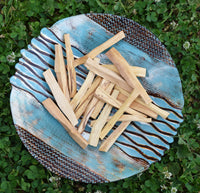 Palo Santo 20 pc Irregular Sticks - Palo Santo Smudge Brings in Good Vibes & Positive Energy