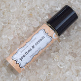 PEACHES & CREAM Perfume Oil - Sweet Fruity Tropical Peach & Coconut Milk Scent