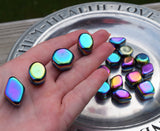 RAINBOW HEMATITE Bright Future Stone - Raise Your Vibration, Manifest Abundance