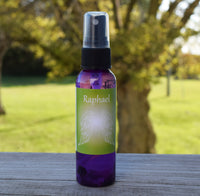 Archangel Raphael Spray - Angel of Healing - Raspberry Vanilla with Rose Quartz & Moss Agate