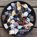 Grab Bag of Raw Crystals - Rough Natural Stones - Add to Your Rock Collection