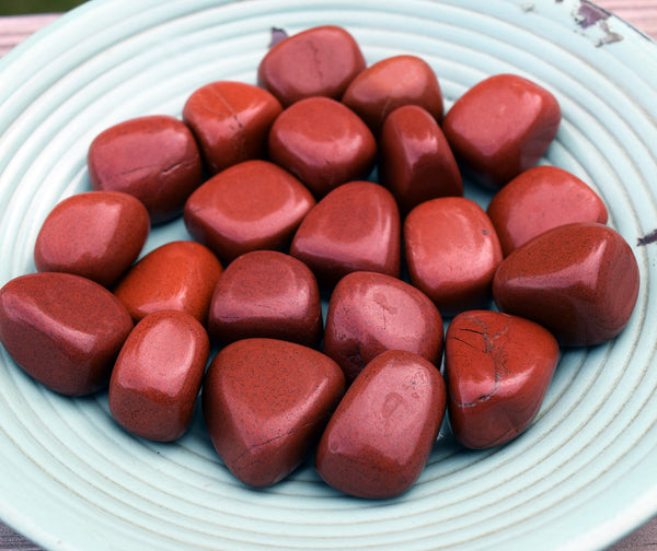 RED JASPER Mother Earth Stone - Increase Vitality, Strength & Stamina - Ancient Warrior Talisman